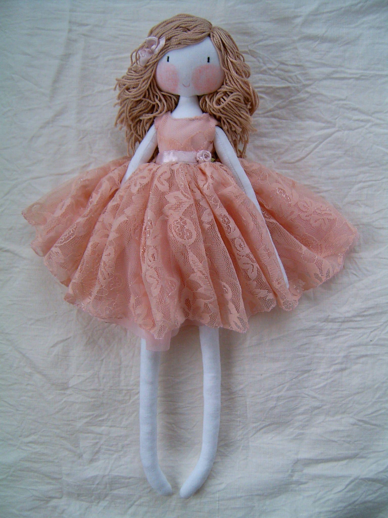 Handmade Dolls Sewing Homemade Dolls Fabric Dolls