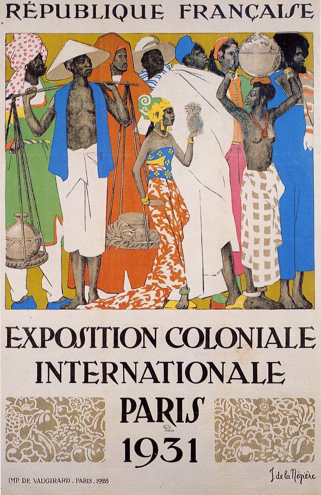 Affiche de l 39 exposition coloniale de paris en 1931 for Expo photo paris