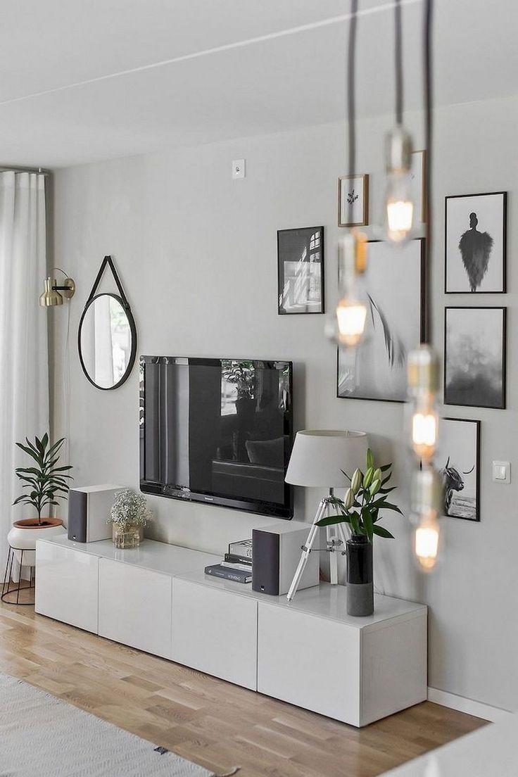 80+ bequeme minimalistische Wohnzimmer-Design-Ideen – #livingroomcolorschemeidea…