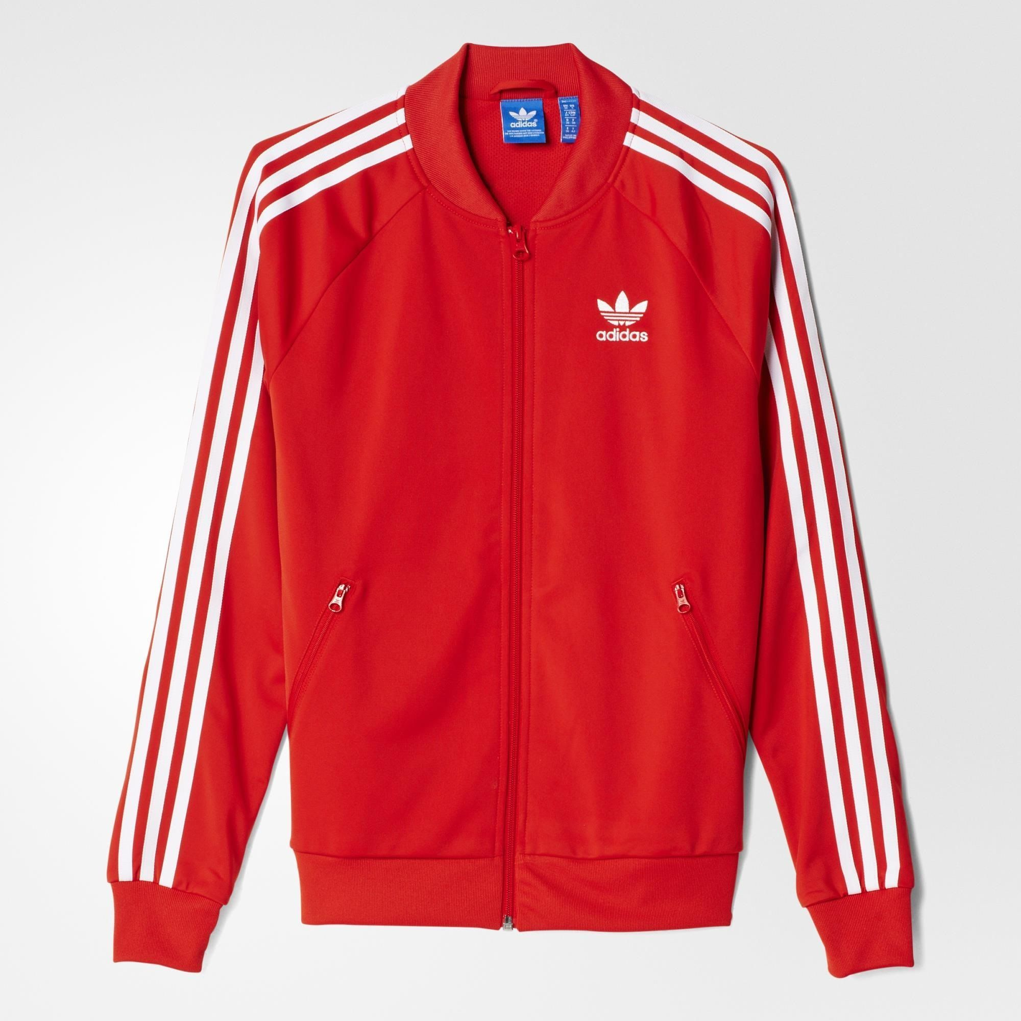 5948bea40a3 adidas Supergirl Track Jacket - Lush Red S16-St | adidas Belgium ...