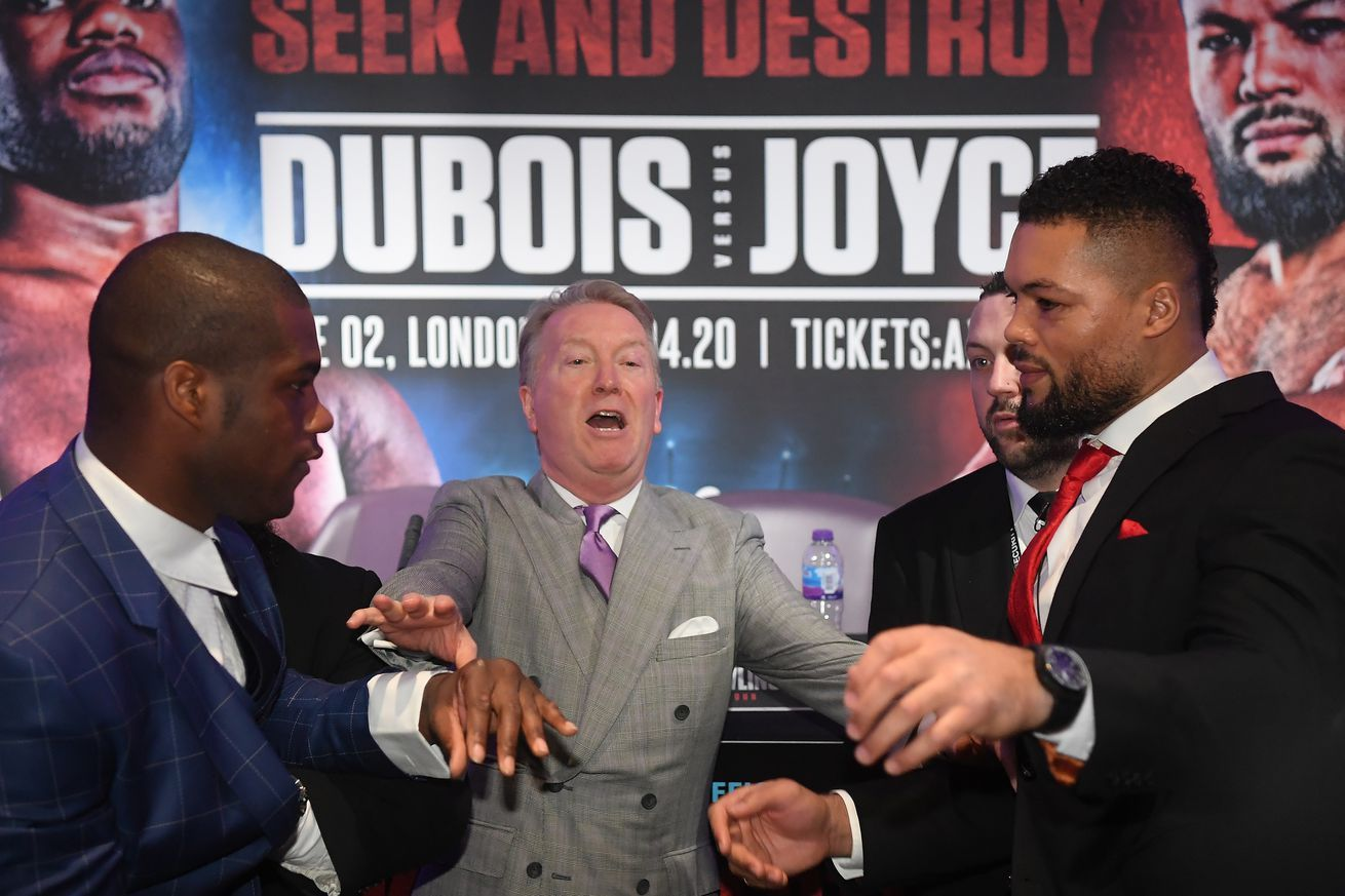 DuboisJoyce rescheduled for Oct. 24 in 2020 Boxing news