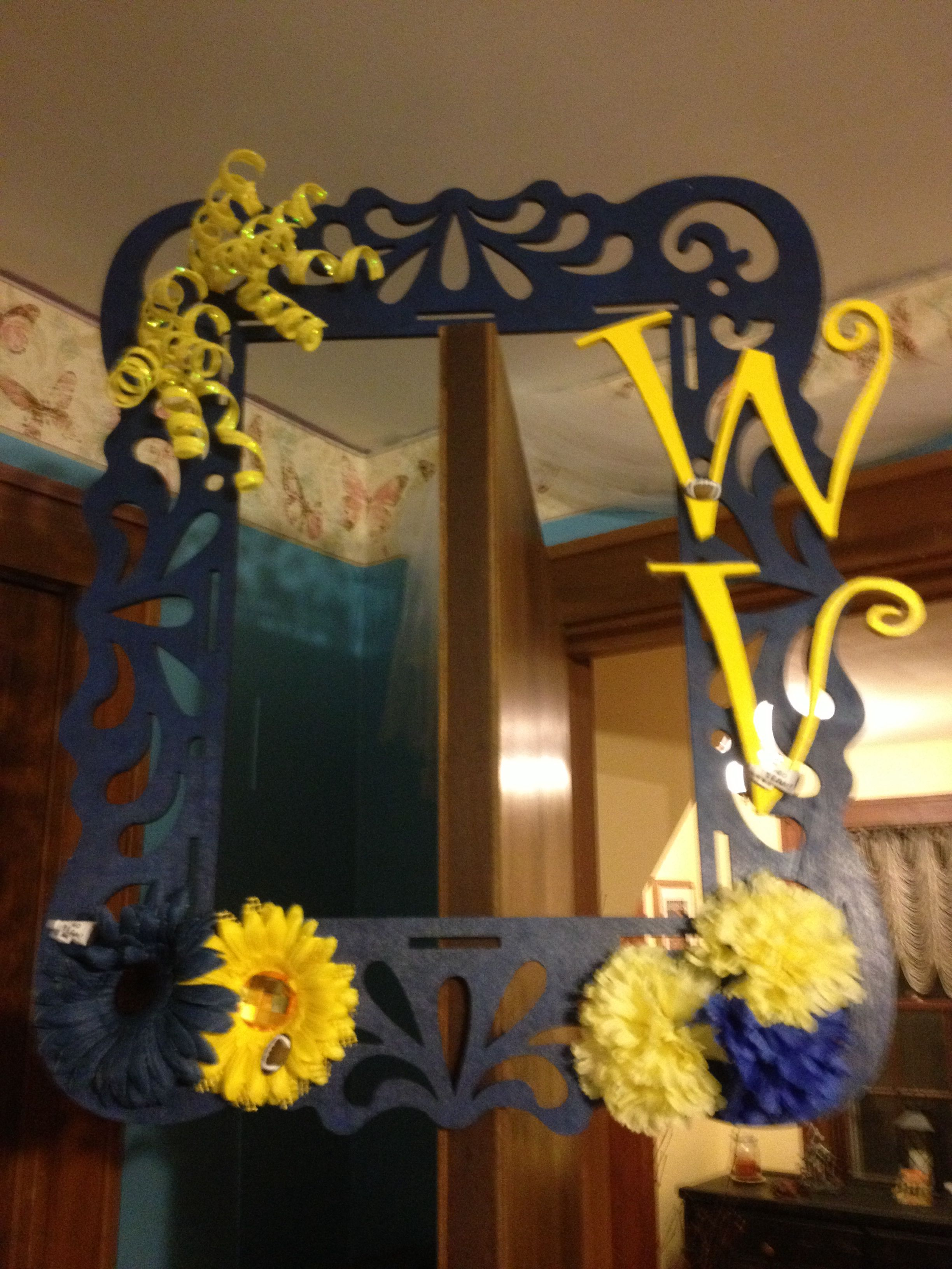 WV wreath