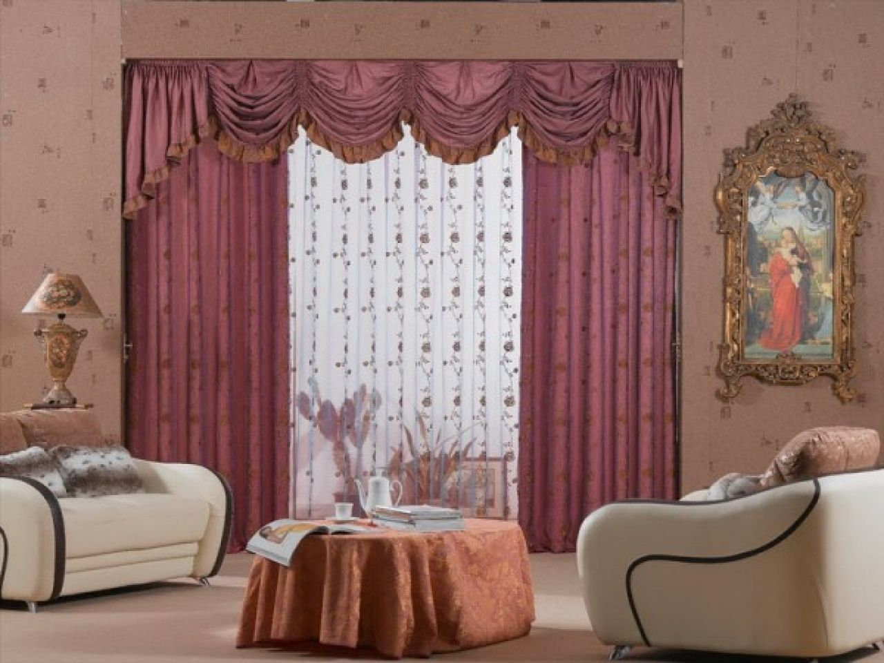 Living Room Curtain Designs Fascinating Pinpavlina Dimitrova On Пердета И Щори  Pinterest Review