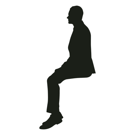 Man Sitting Straight Silhouette Ad Sponsored Ad Sitting Straight Silhouette Man Silhouette Man Sitting Silhouette Png