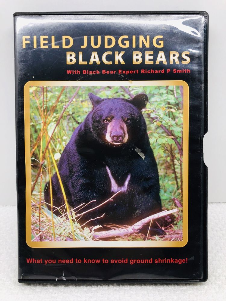 Field Judging Black Bear DVD by Richard P  Smith- Best Bear