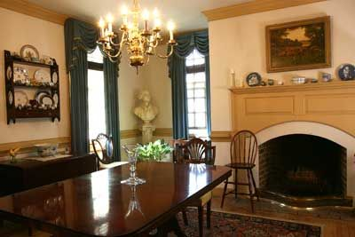 Colonial Middle Class Dining Room