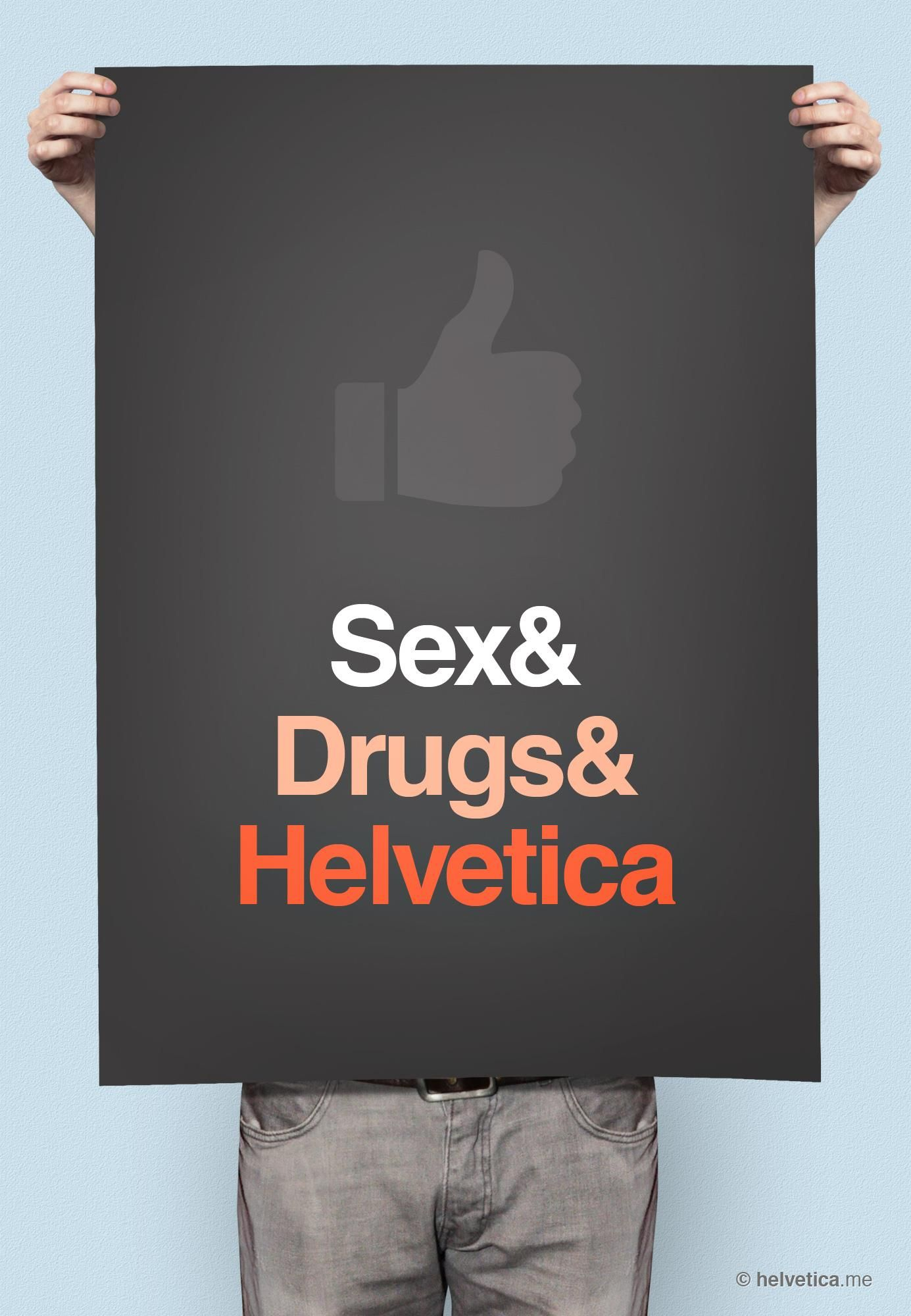 Helvetica is the font, it is designed by Paul Renner. i like this ...