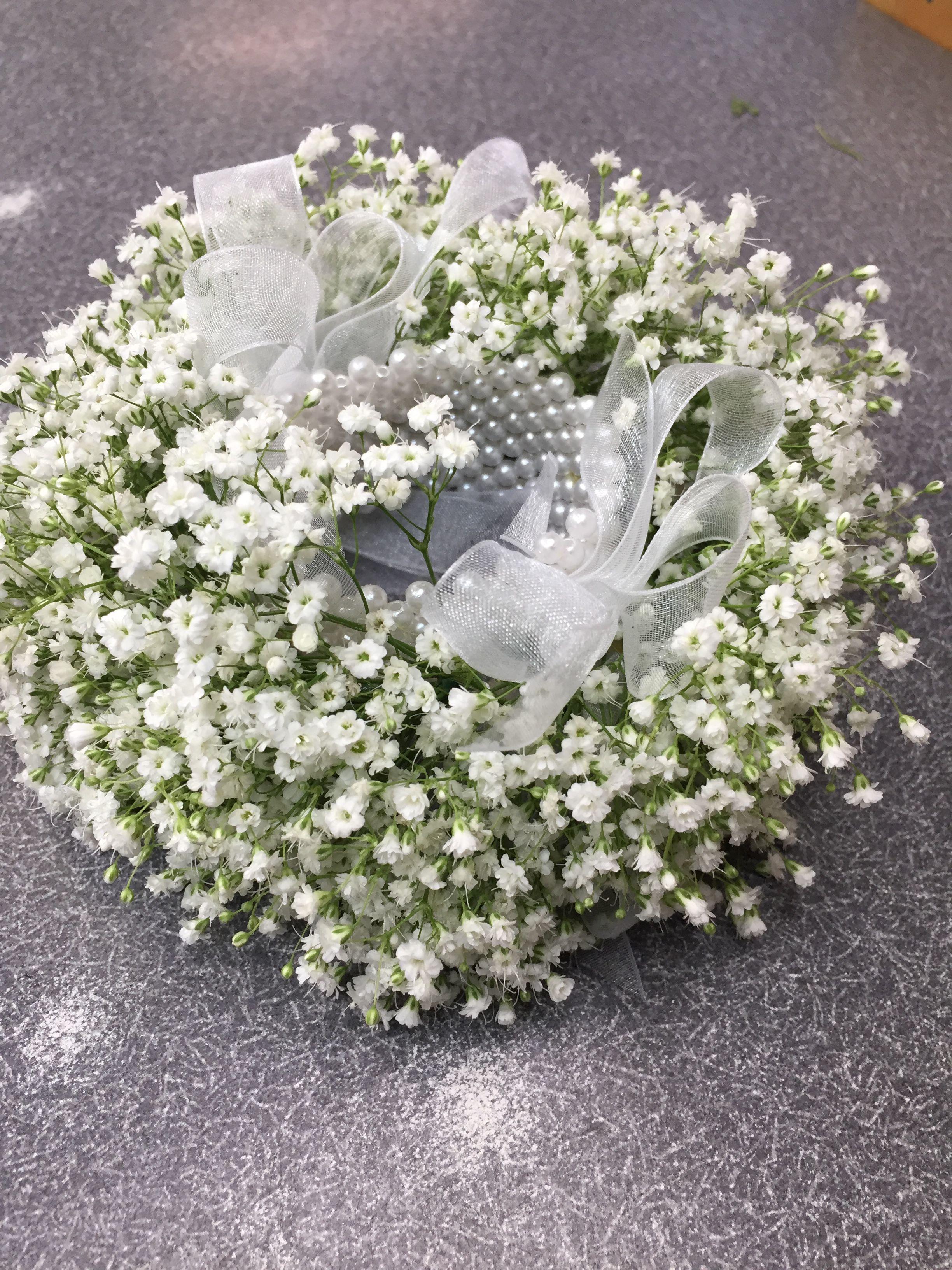 Million Gypsum Handcuffs Flower Market Beautiful Flowers Floral Wreath