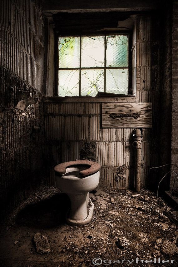 Abandoned Places Old Toilet Bathroom Art Urban