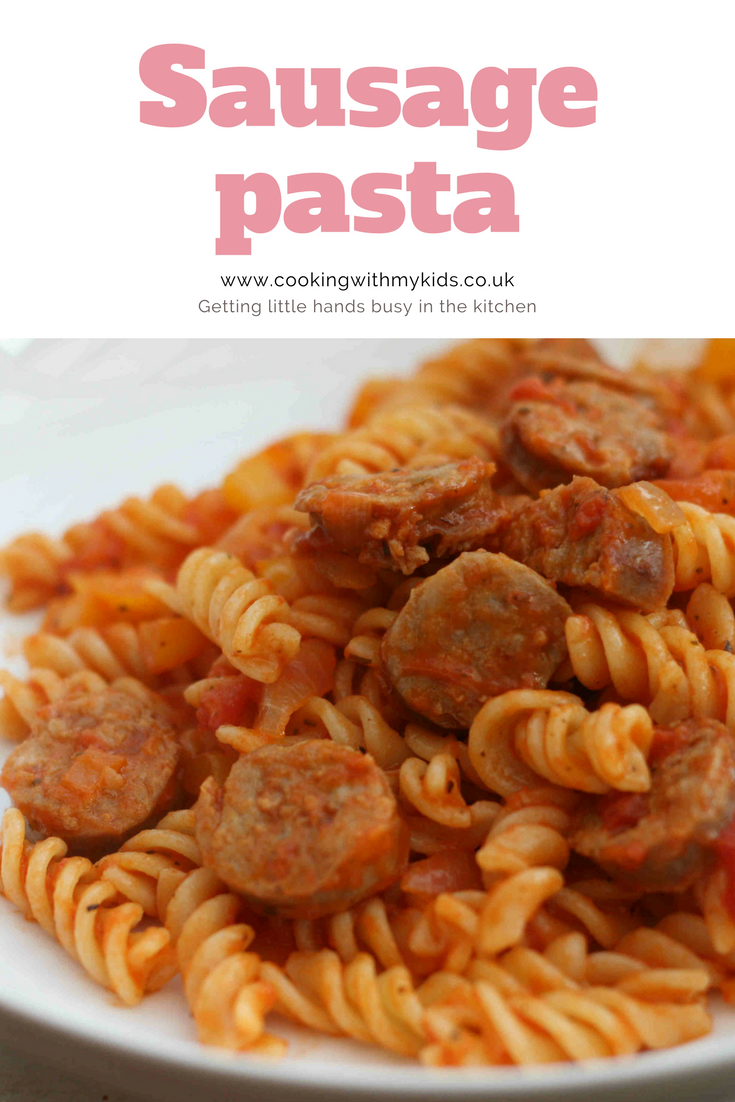 Sausage Pasta My Recipe Exchange Let S Share Pasta Dinner