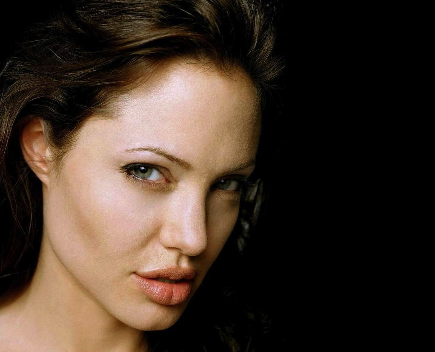 Angelina Jolie  Actresses People Background Wallpapers on