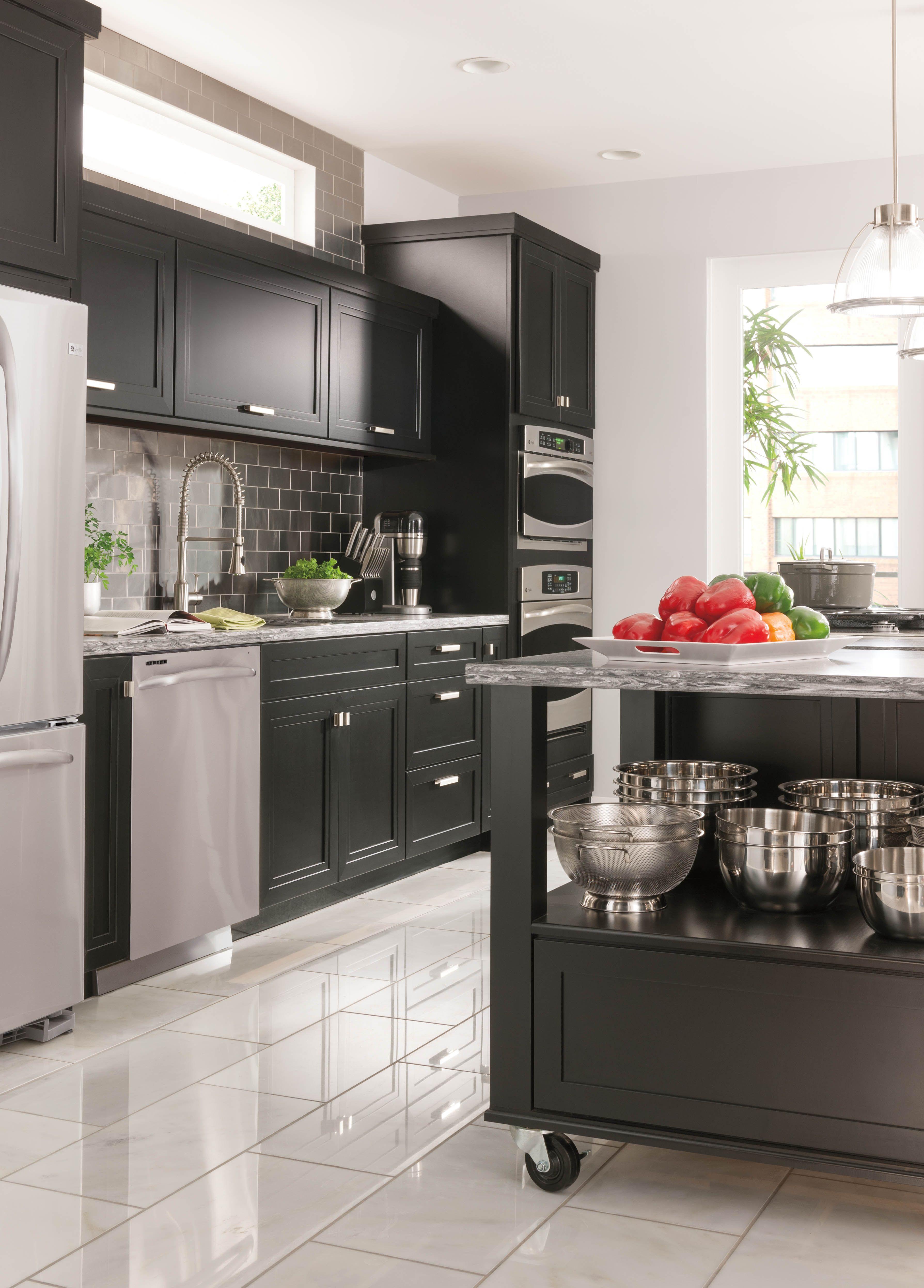 Martha Stewart Living Kitchen At The Home Depot Kitchen Layout Home Kitchens Kitchen Tiles Design