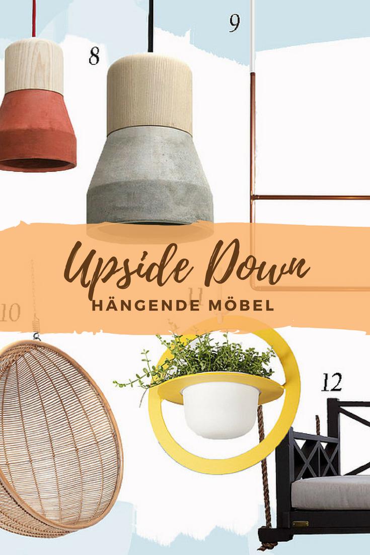 Upside Down Hängende Möbel Living Hats Und Panama