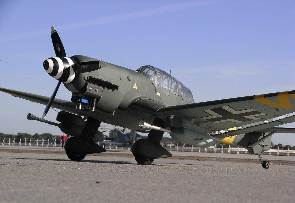 Junkers Ju 87 or Stuka (from Sturzkampfflugzeug, \