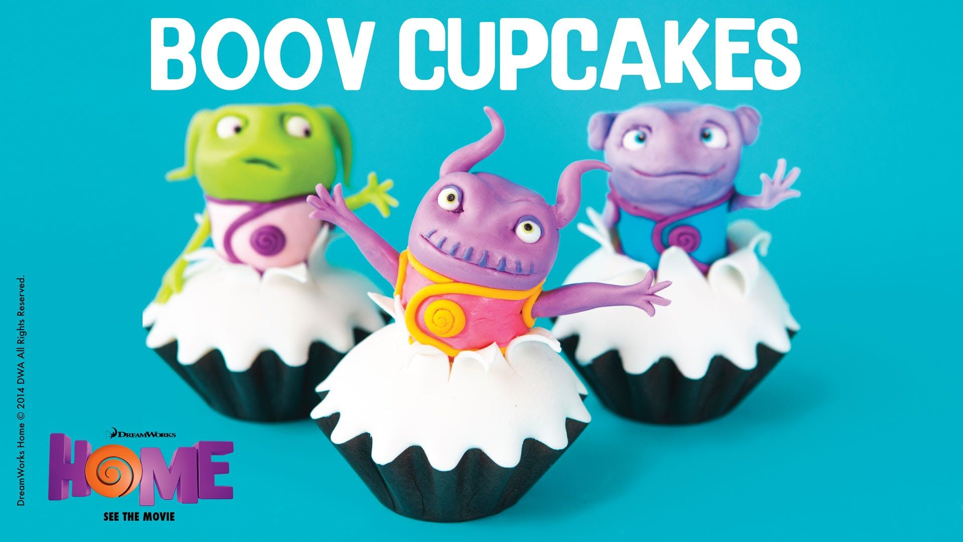 Boov Cupcakes Recipe! Pastry chef Elisa Strauss shows you how to ...