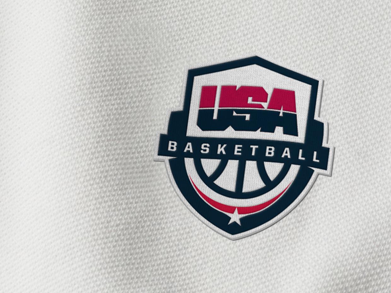 Usa Basketball Logo On Behance Corporate Identity Design Branding Design Inspiration Logo Inspiration