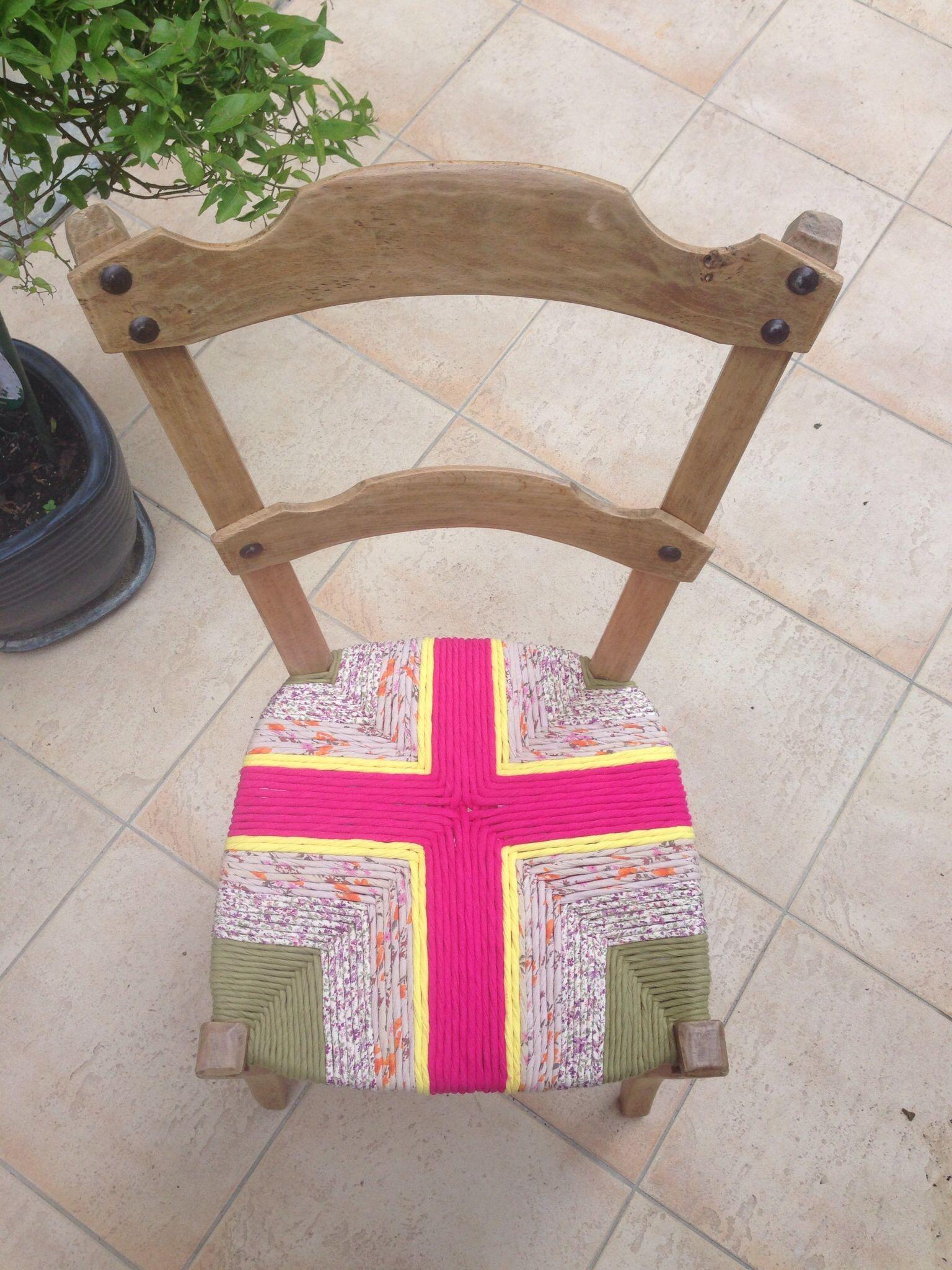Rempaillage De Chaise En Tissu Rempaillage Chaise Chaise Chaise Tissu