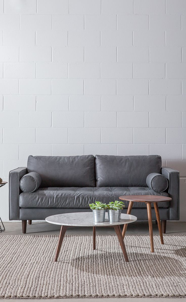 A Sofa Made With Apartments And Small Spaces In Mind Just 72 Furniture For Small Spaces Mid Century Modern Living Room Couches For Small Spaces