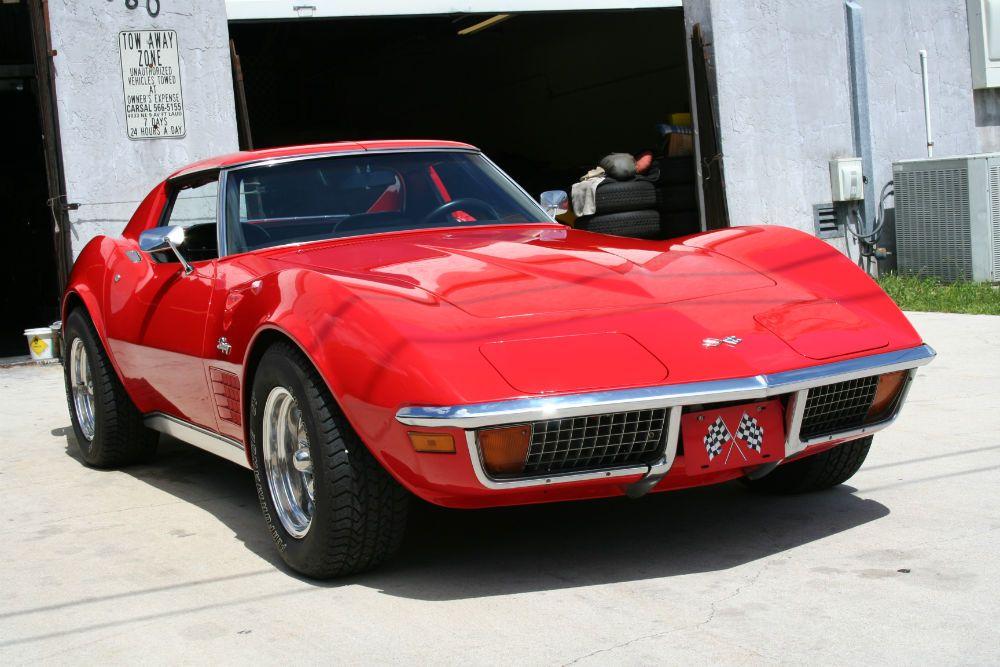 1972 Corvette Corvette Stingray Corvette Little Red Corvette