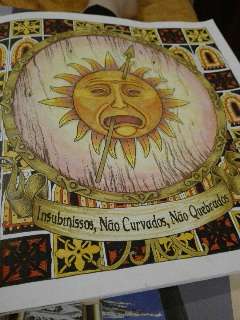 Martell Sigil Gameofthrones Gameofthronescoloringbook