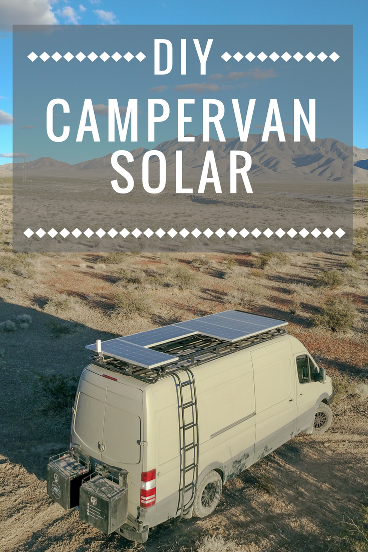 825 Watts Of DIY Solar For Our Camper Van Life Makes Working From The Road Possible