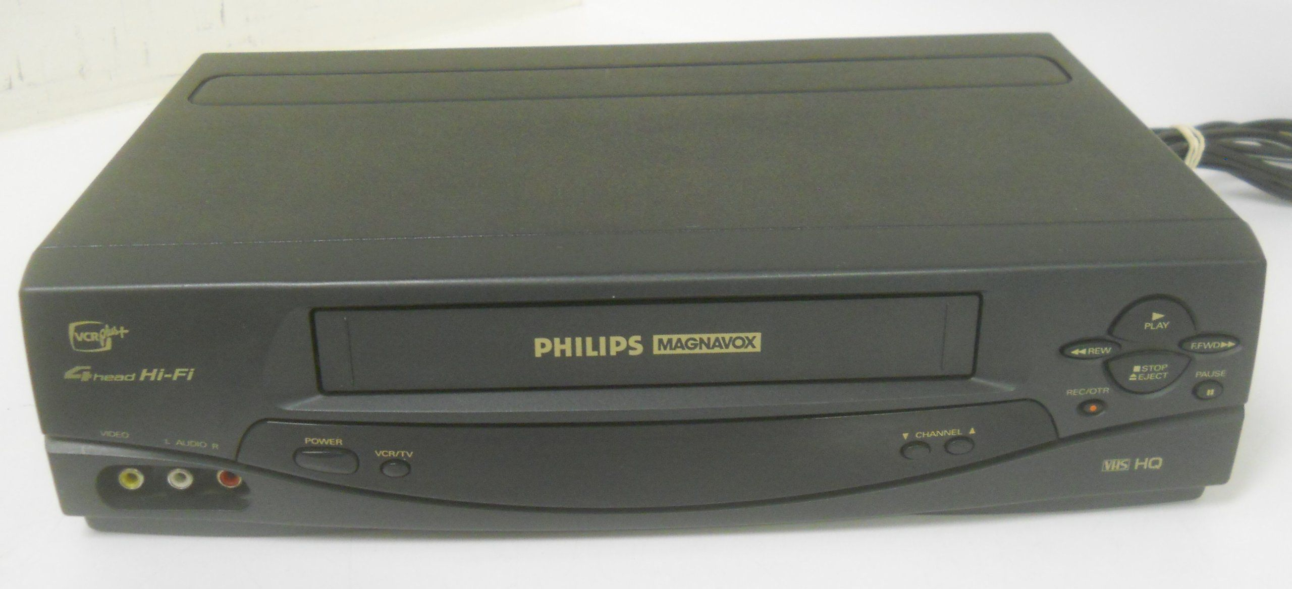 Philips Magnavox Vrz262at22 Vrz262 Hifi Stereo Video Cassette Recorder Player Vcr Vhs Tape Play Back Cable Tuner 4 Head Hifi Cassette Recorder Philips Cassette