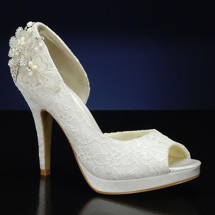 Allure bridal wedding shoes
