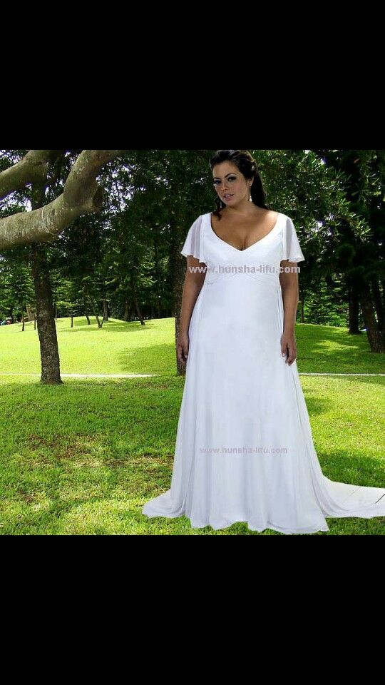 Simple But Pretty Weddings In 2019 Plus Size Wedding Gowns