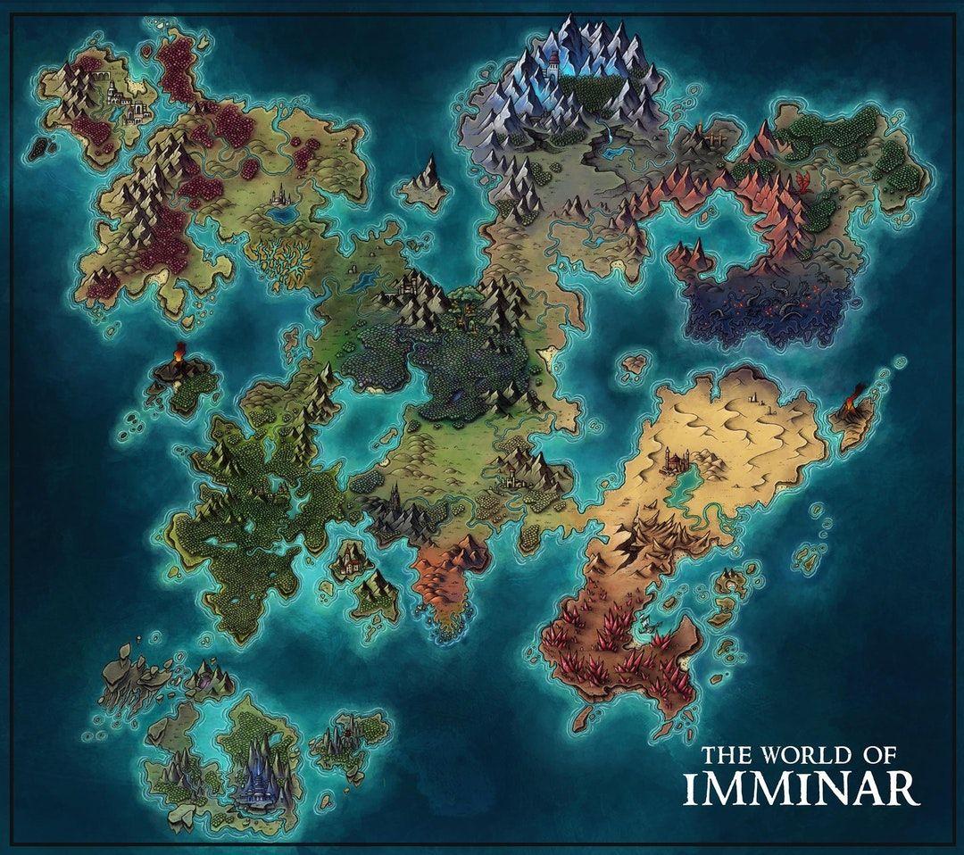 Pin by Ani Graham on Fantasy Map Inspo Fantasy world map