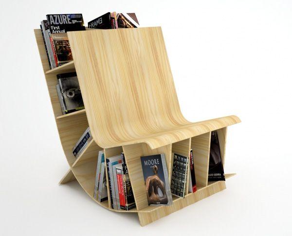 diseos creativos de estantera para ratones de biblioteca