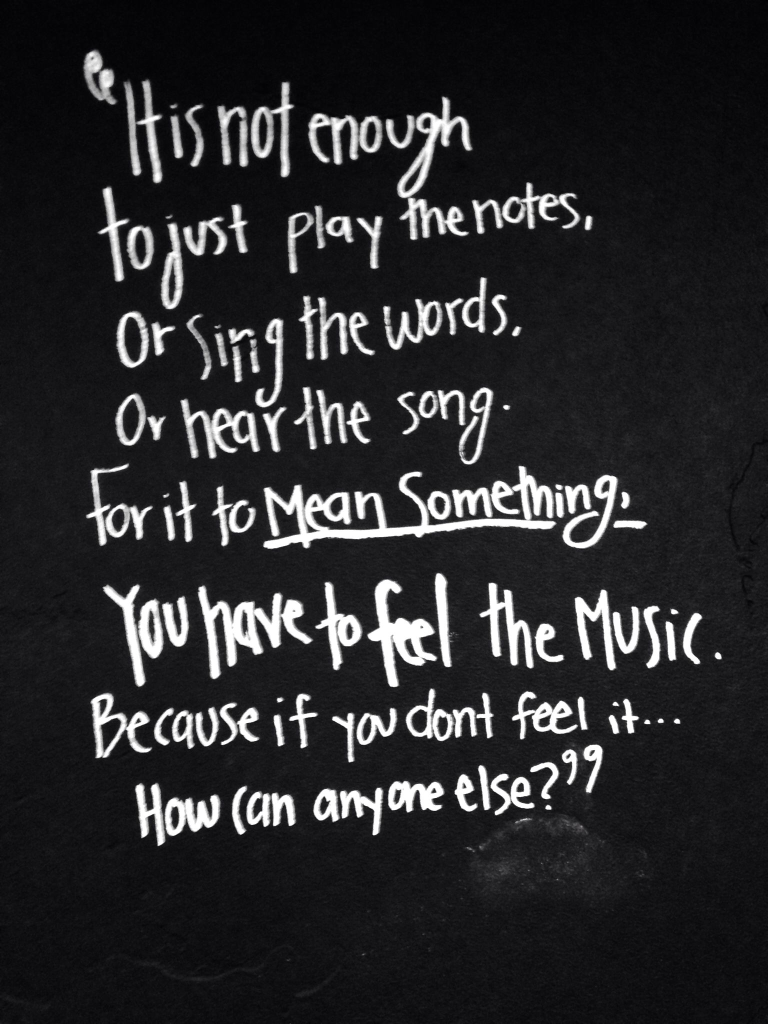 To truly enjoy & appreciate all of the art of music, each