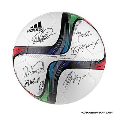 US Women s Soccer Team 2015 World Champions Autographed Adidas White Glider Soccer  Ball. Want to purchase a version signed by the entire team. 3834ba0af