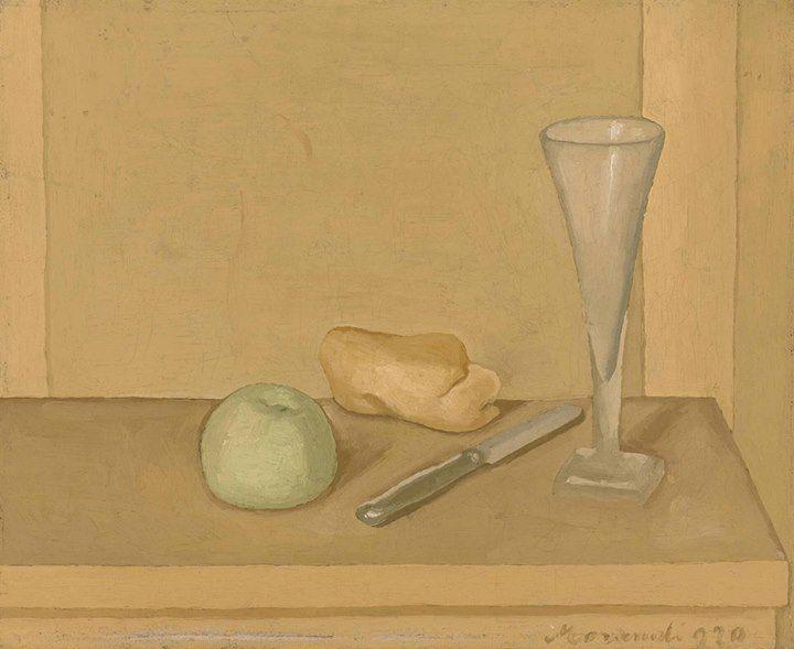 Giorgio Morandi (1890-1964) Natura morta, 1920