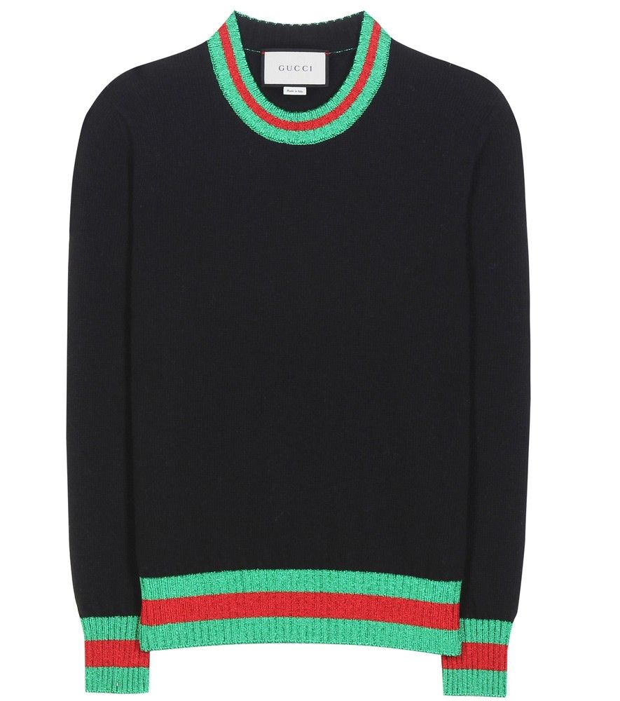 Gucci - Wool and metallic sweater - Inject a dose of colour and shimmer into…