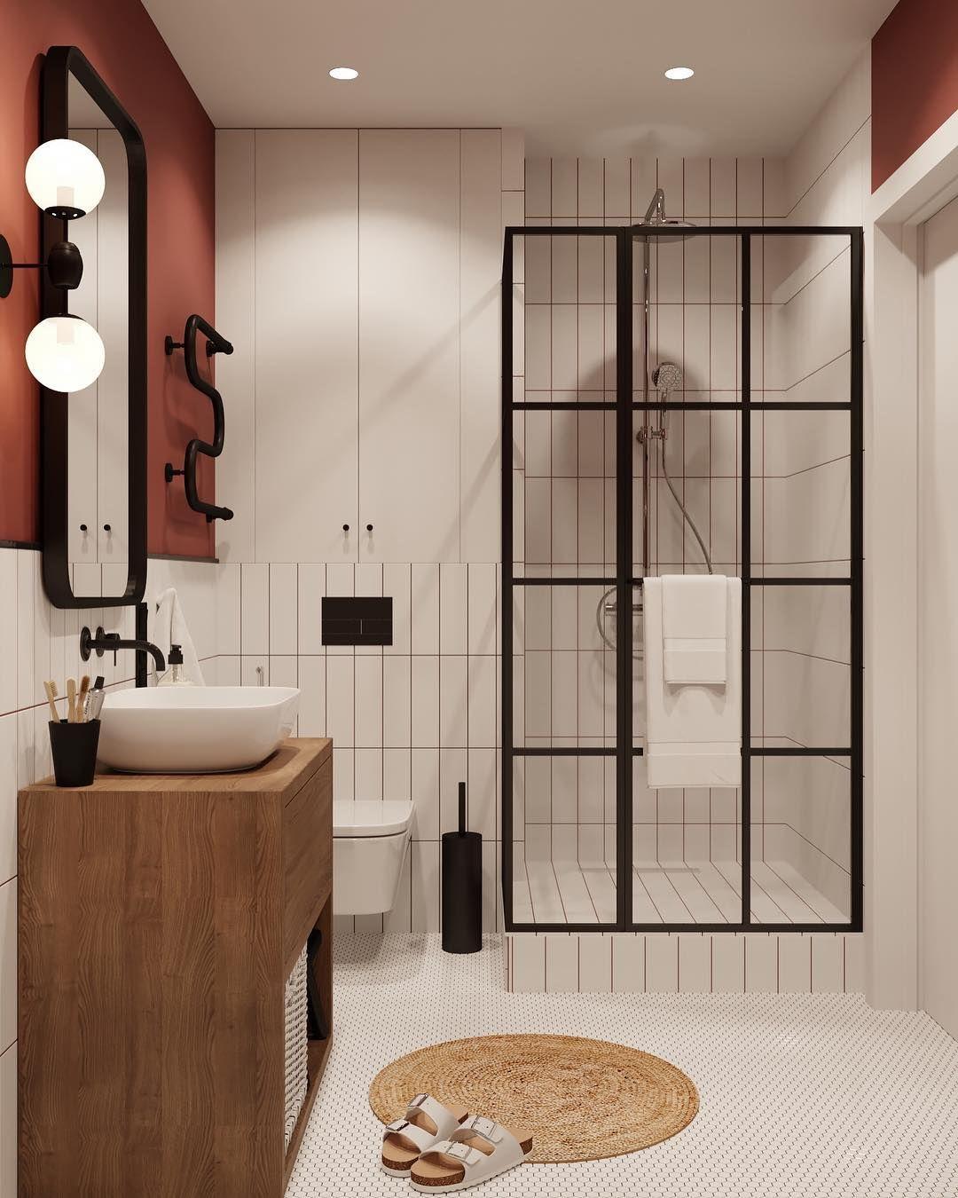 #modernpowderrooms