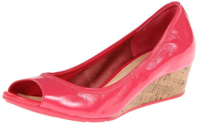 Womens Shoes Cole Haan Air Tali OT Wedge 40 Punch Patent