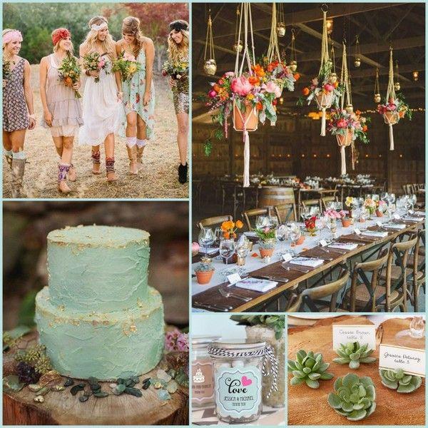 Rustic Boho Wedding Decorations