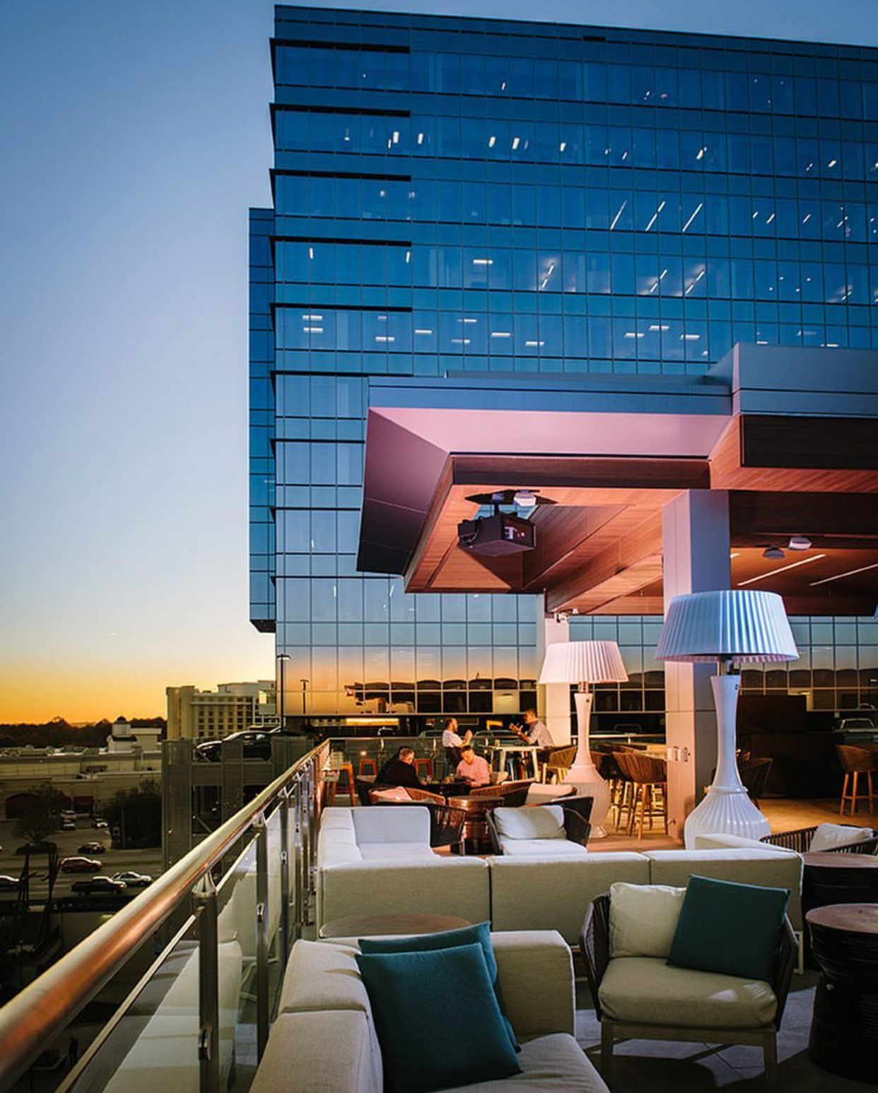 February Is Patio Weather At Level 7 Rooftop Bar In
