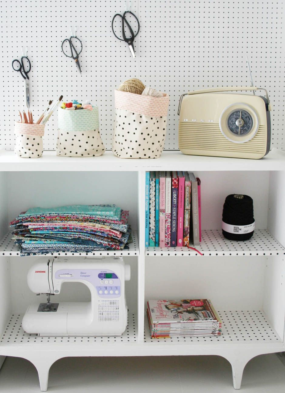 Fabric bucket tutorial | Apartment Apothecary | a place to work ...