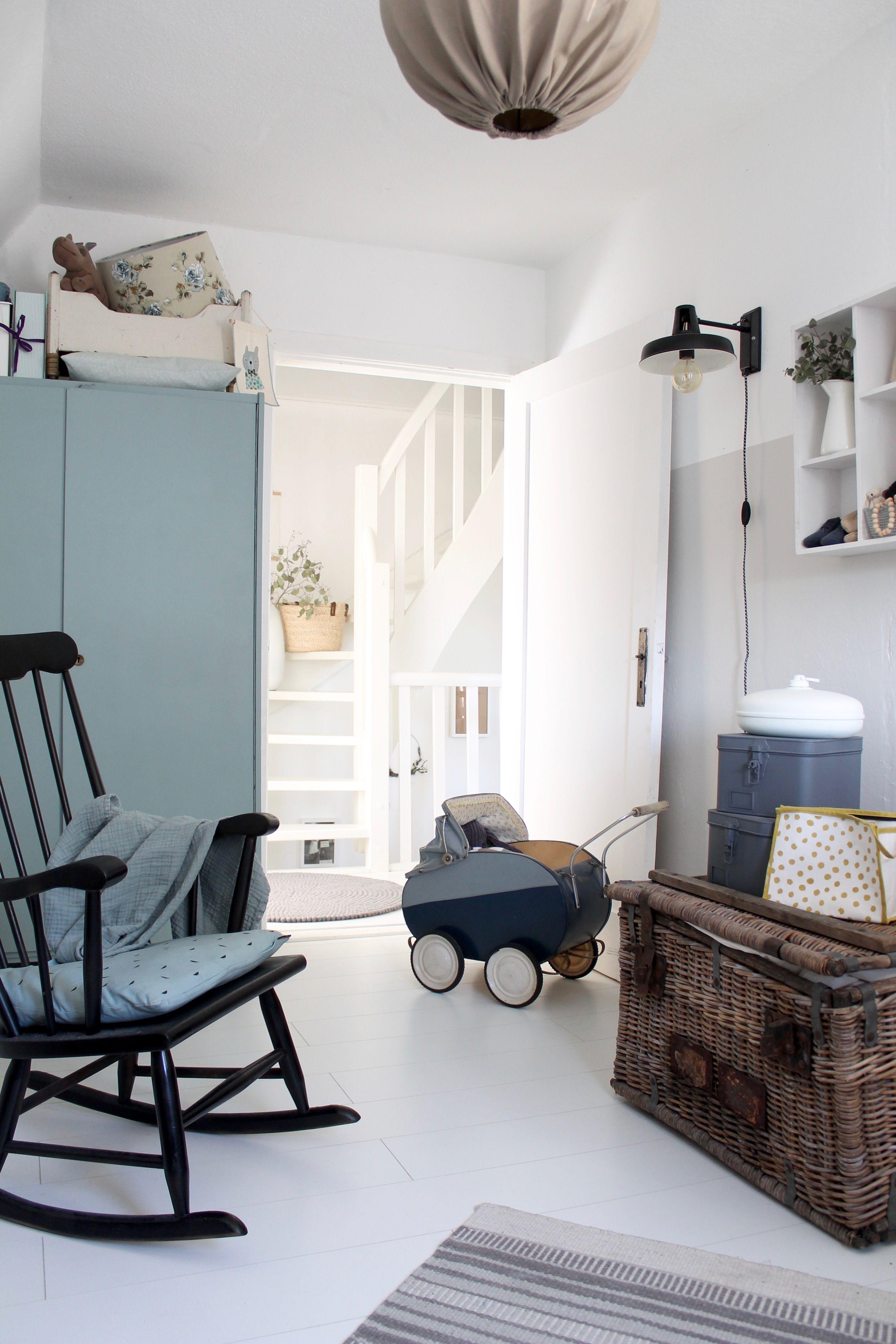 Das Zimmer Fur Sam Babyzimmer Nursery Vintage Mit Bildern Wohnen Zimmer Babyzimmer
