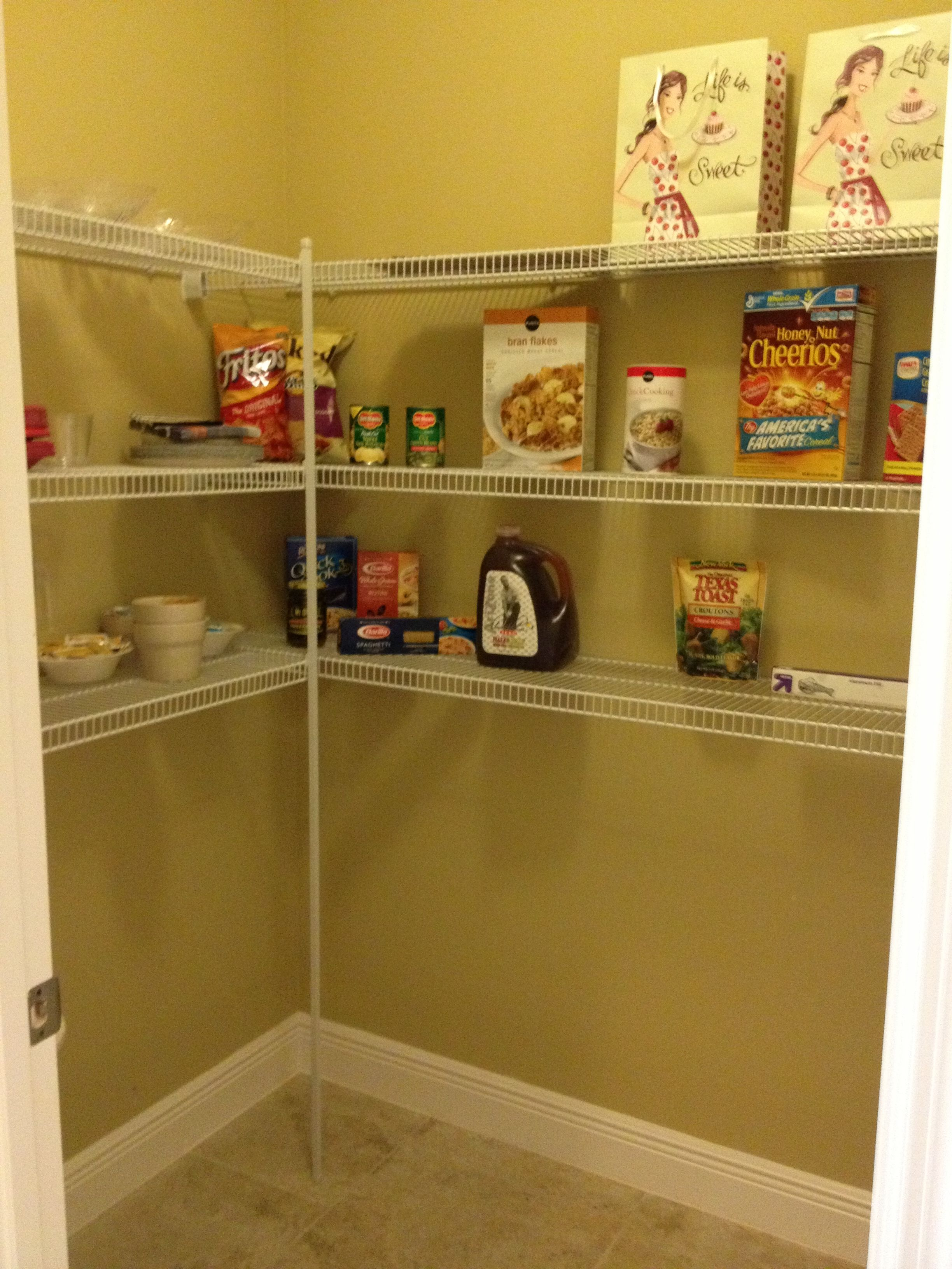 Walk in pantry in model | Home redos | Pinterest | Pantry and Pantry ...