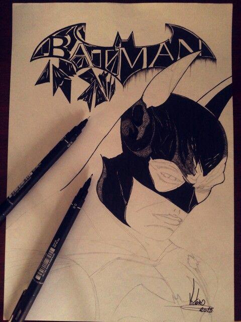 Desenho em andamento BATMAN