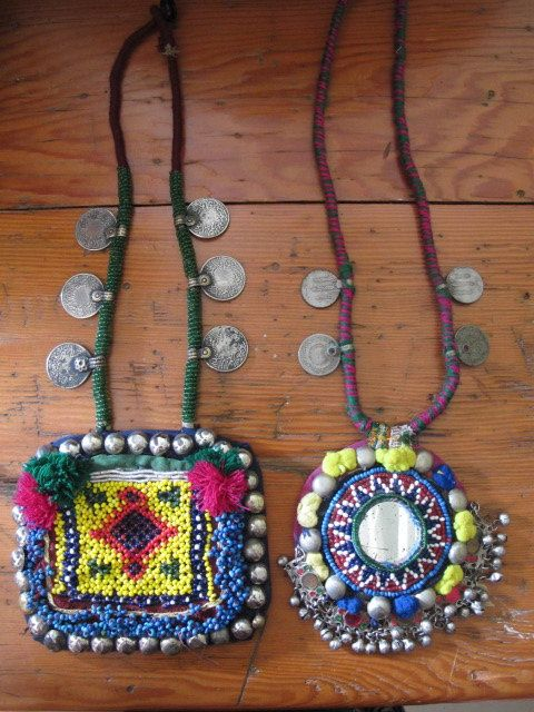 Tribal beaded necklace by shopgypsyriver on Etsy, $50.00