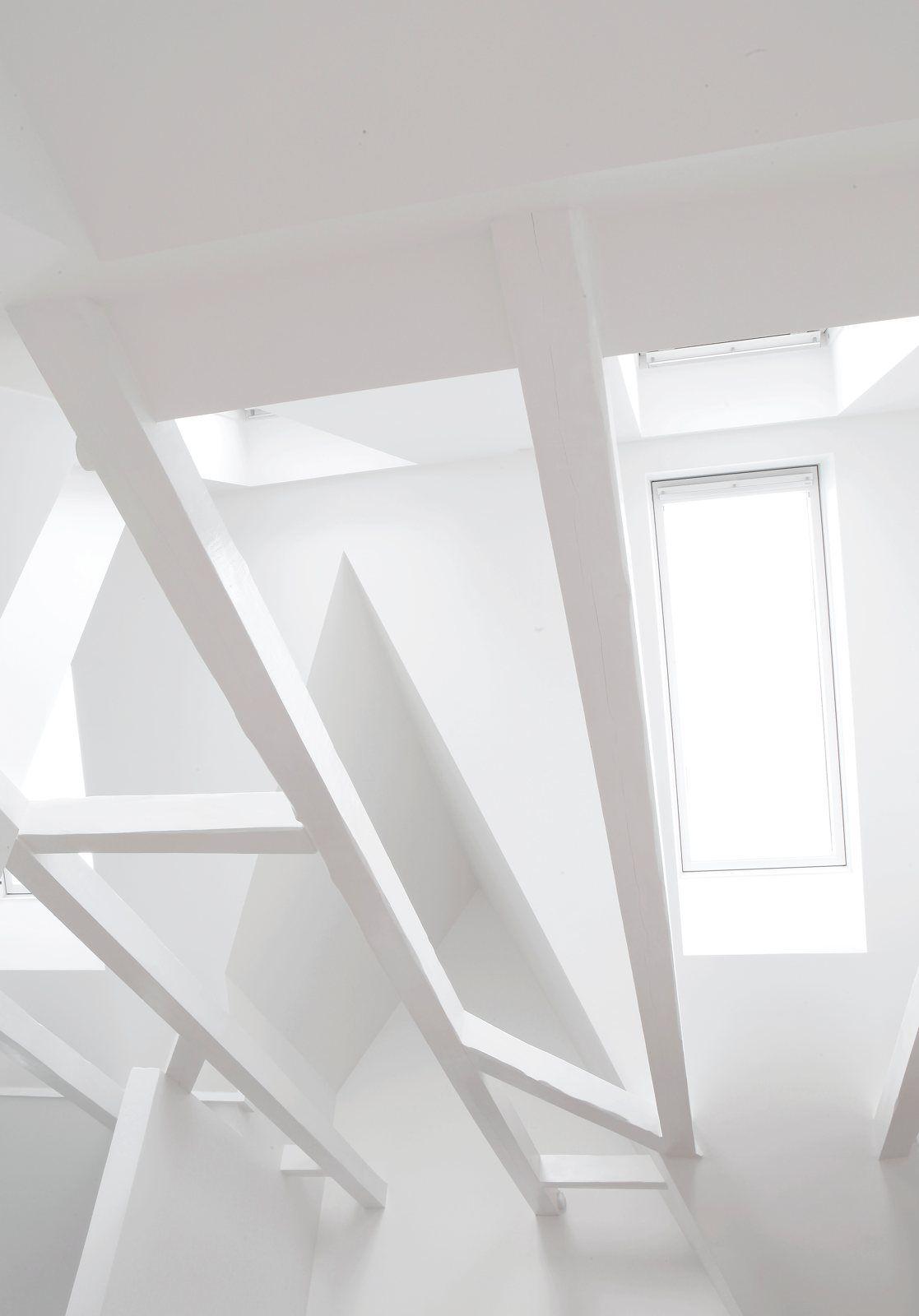 Attic with skylight. Copenhagen Townhouse I by Norm.Architects. #minimal