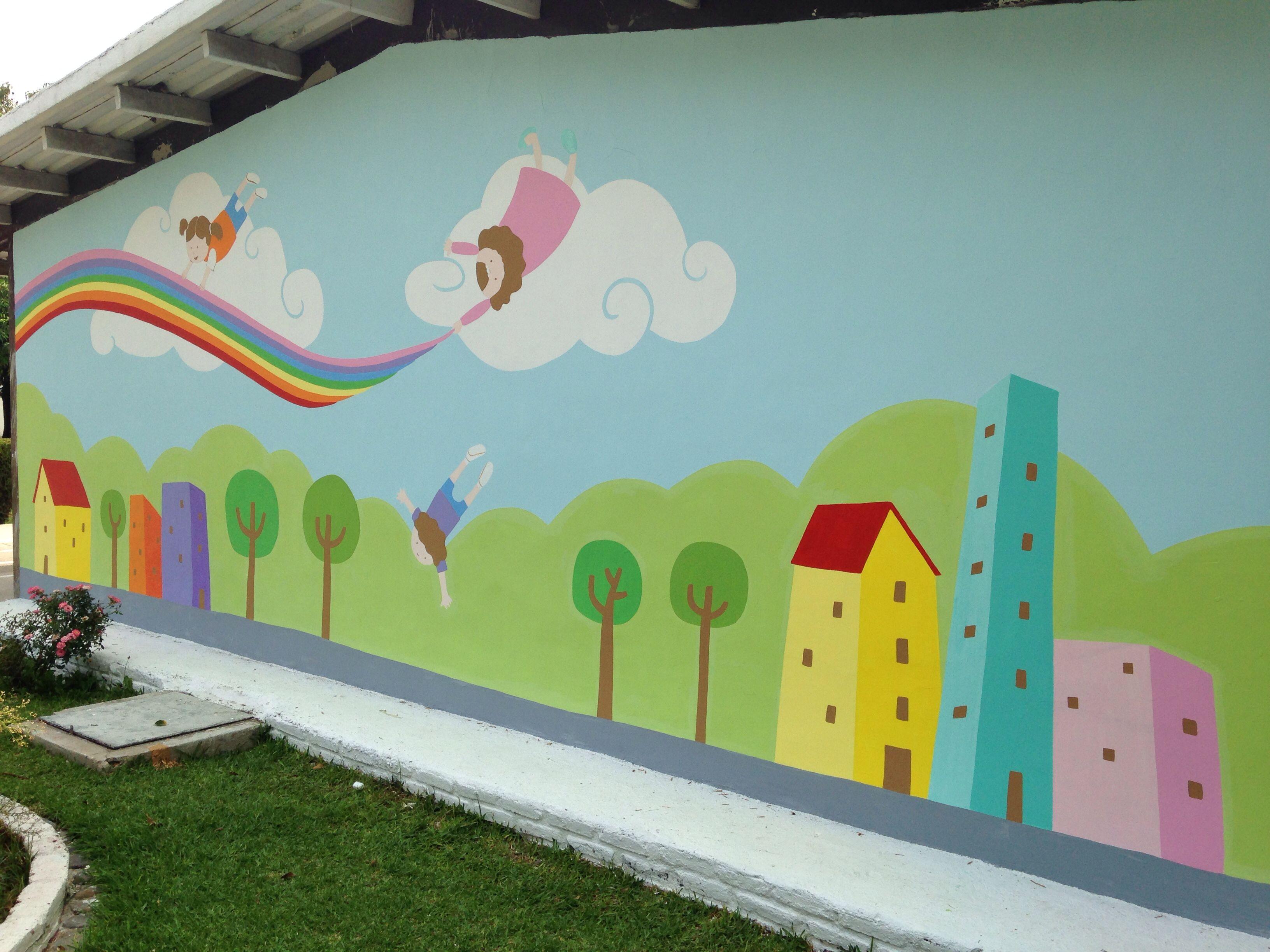 Murales infantiles de gdl pinterest - Decoracion infantil paredes ...