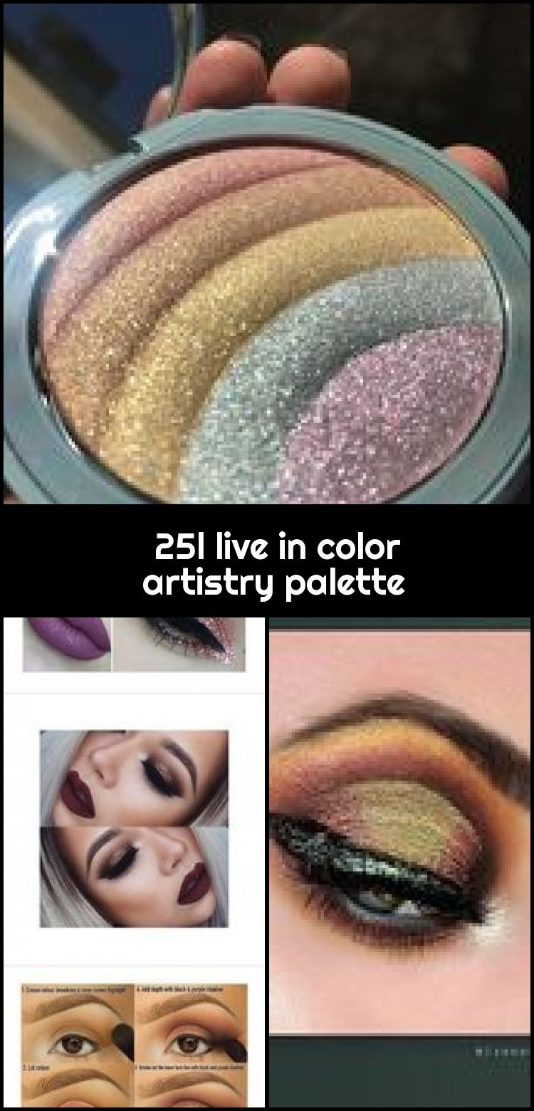 25l live in color artistry palette 25l live in color artistry palette  A beautiful pallet Cant wait until it comes back in stock Then Im purchasing
