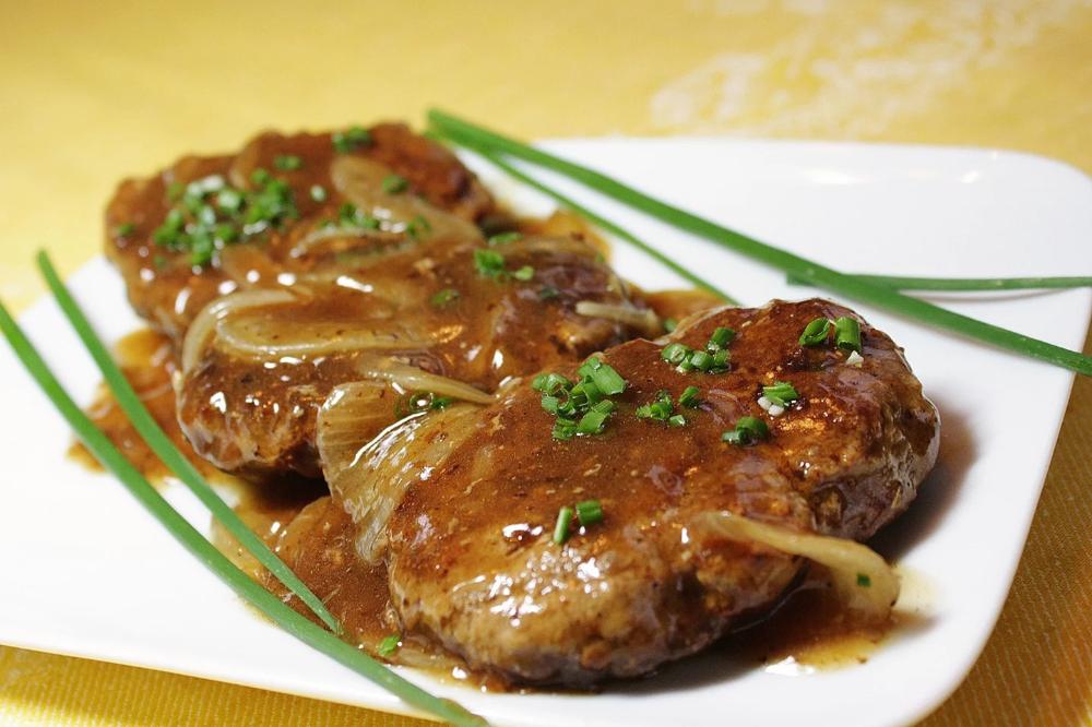 Hamburger Steak With Onions And Gravy Recipe Hamburger Steak Recipes Ground Beef Recipes