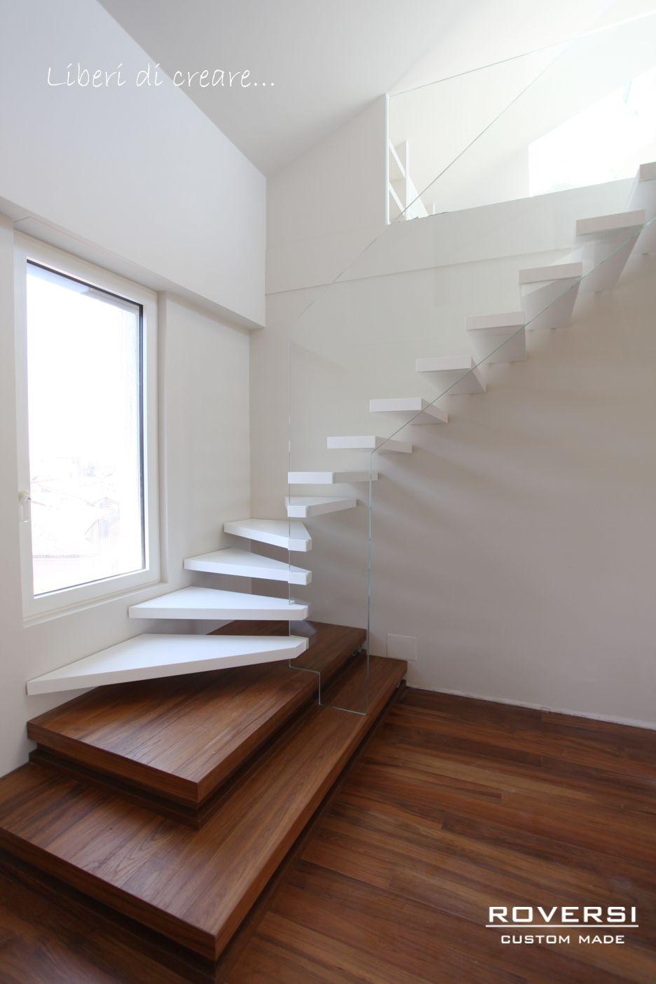 Produzione e vendita di scale a sbalzo soluzioni molto for Vari stili di arredamento