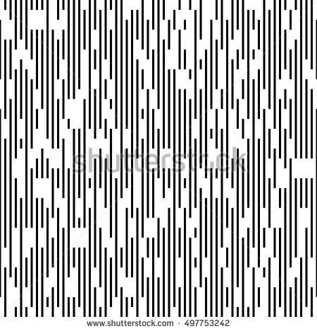 Seamless Vertical Dotted Line Pattern Vector Black And White