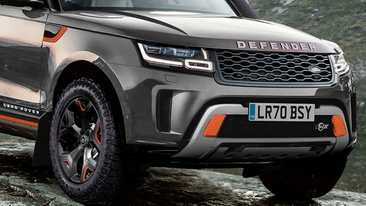 2020 Land Rover Defender SUV Reveal YouTube Land rover